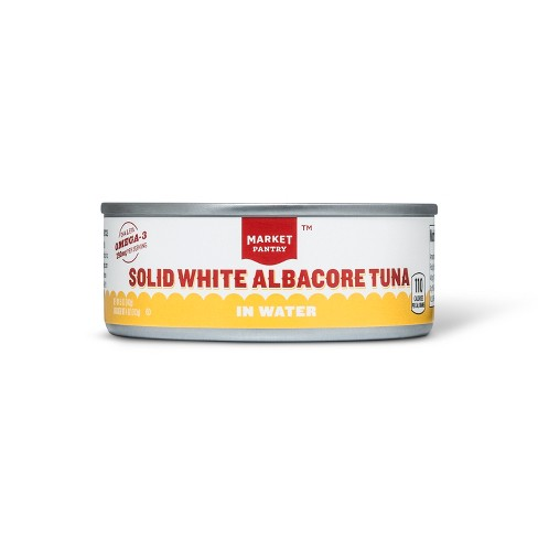 Solid White Tuna Albacore in Water 5 oz - Market Pantry™ - image 1 of 1