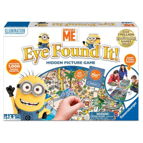 Eye Found It! Despicable Me Board Game - image 1 of 3
