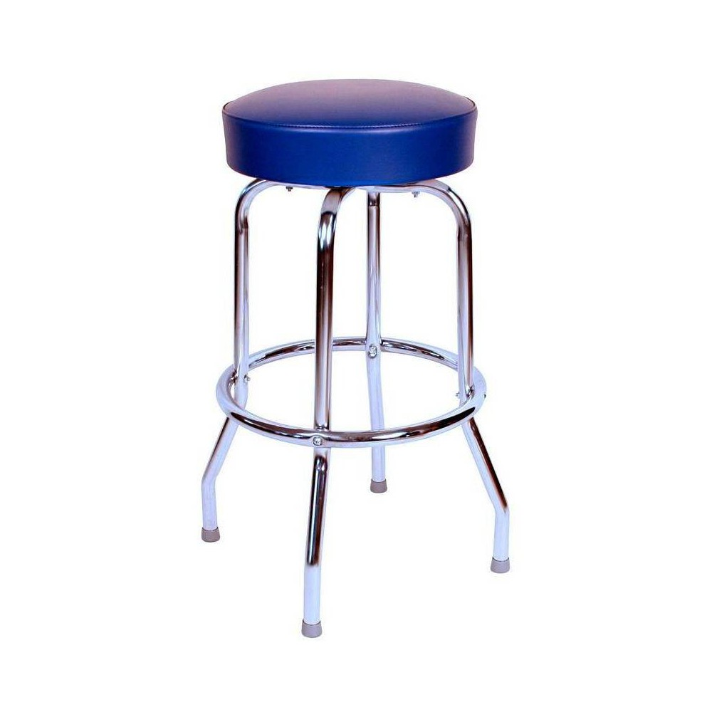 "Image of ""24"""" Floridian Swivel Counter Stool Blue - Richardson Seating"""