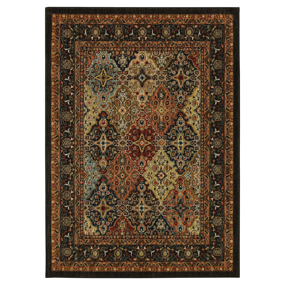 Image of Diamond Woven Area Rug 5'X7' - Karastan