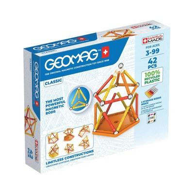 Geomag GREEN LINE Color Magnetic Building Set 42pc