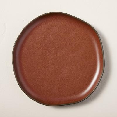 Stoneware Exposed Rim Dessert Plate Cinnamon - Hearth & Hand™ with Magnolia