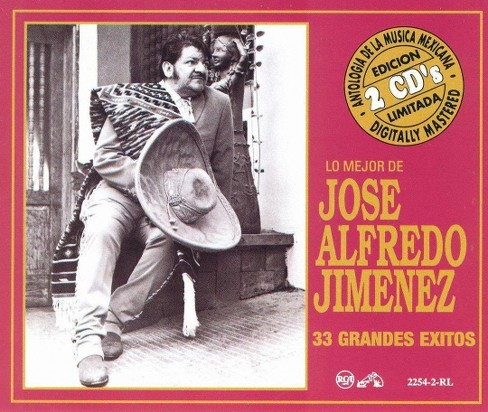 Jose alfred jiminez - 33 grandes exitos (CD) - image 1 of 1