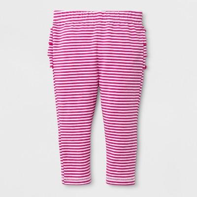 Baby Girls' Leggings - Cat & Jack™ Hot Magenta Pink 0-3M