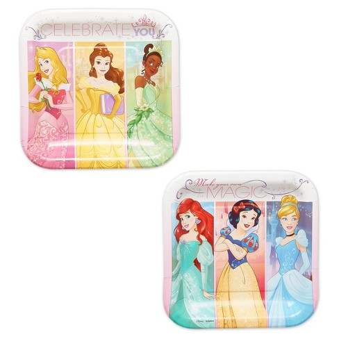 "Disney Princess 7"" Paper Plates - 8ct - image 1 of 3"