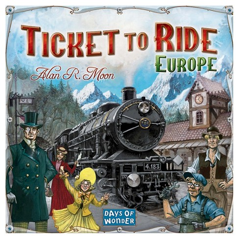 Ticket To Ride Europe Board Game - image 1 of 2