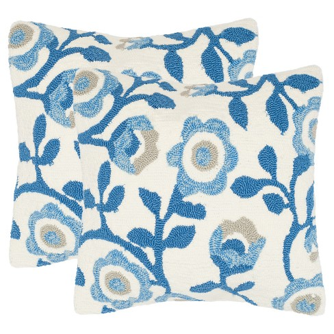 Provence Floral Throw Pillow Set - Safavieh® - image 1 of 2