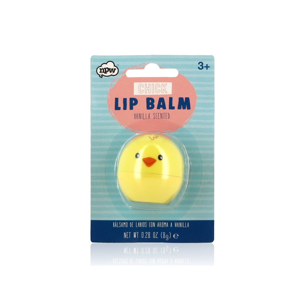 Easter Chick vanilla scented Lip Balm - Npw