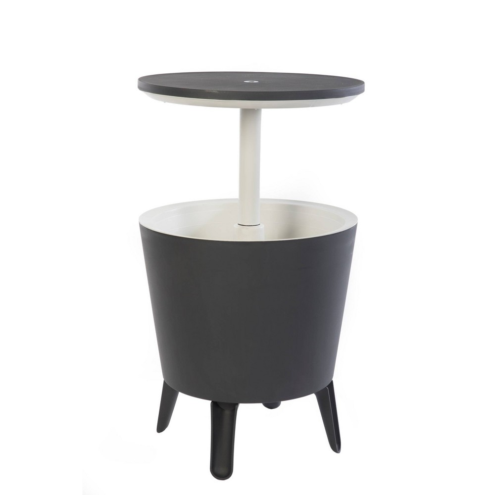 Image of Cool Bar Cooler Bar Table - Gray - Keter