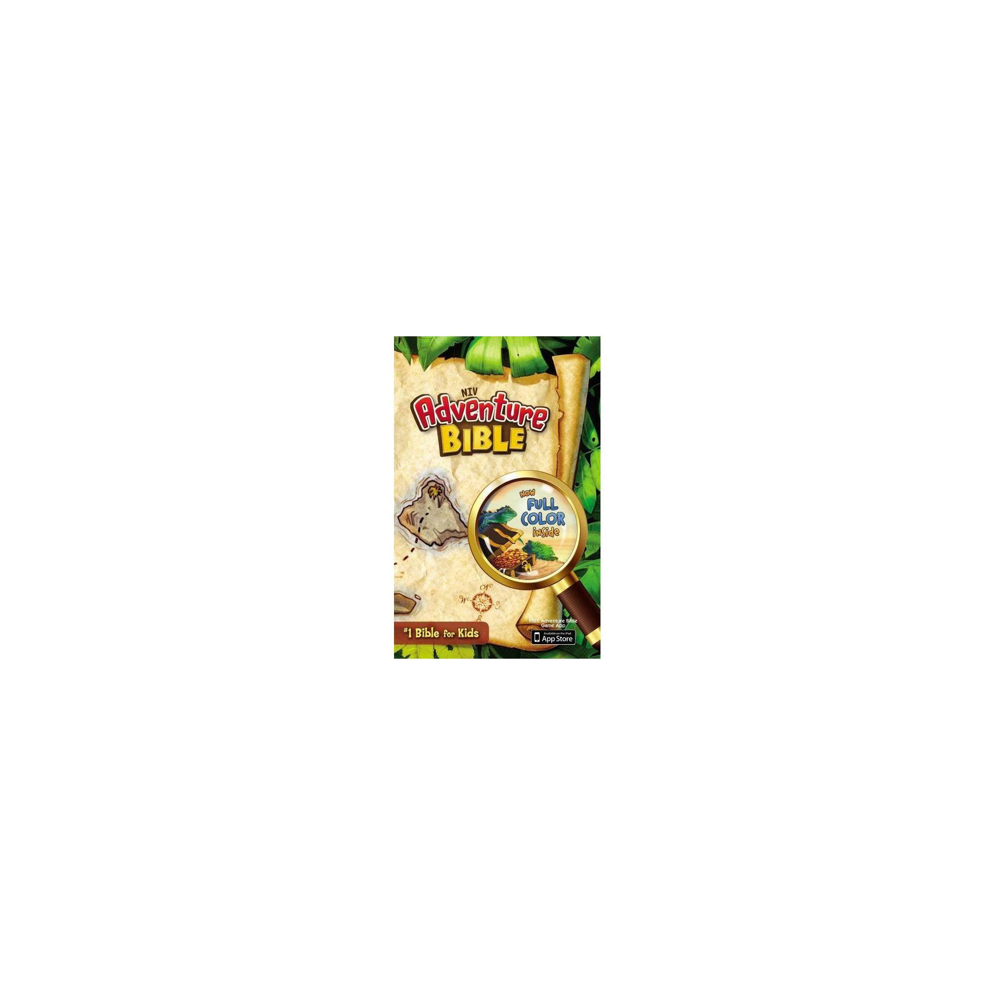 Adventure Bible, NIV - by Zondervan (Hardcover)