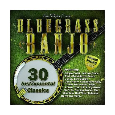 Bluegrass Banjo Power Picks: 30 Instrumental ClassicsBluegrass Banjo Power Picks: 30 Instrumental - image 1 of 2