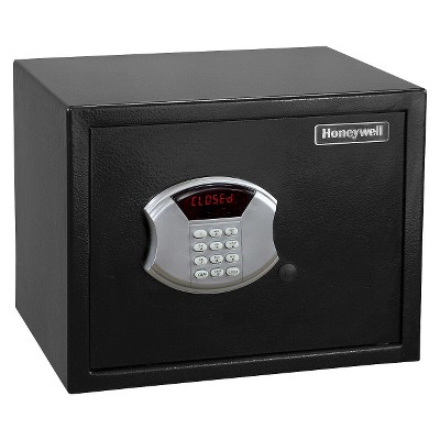 Honeywell® Steel Security Safe, .83 Cubic Feet - Black