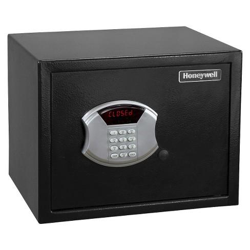 Honeywell Steel Security Safe .83 Cubic Feet - Black - image 1 of 4