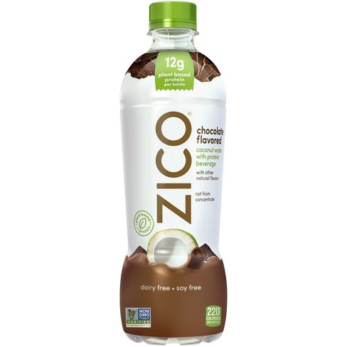 ZICO Chocolate Flavored Coconut Water Beverage - 16.9 fl oz Bottle - image 1 of 3