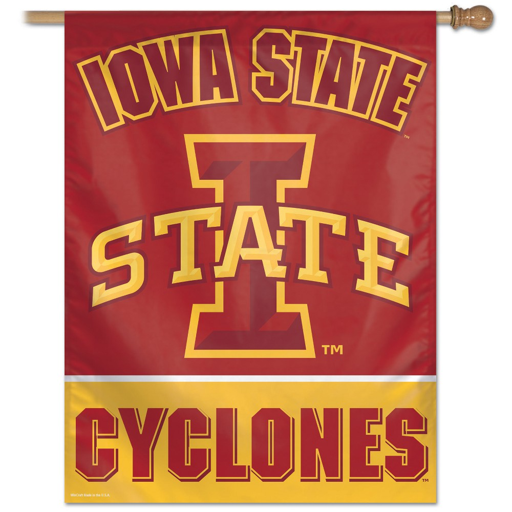 NCAA Iowa State Cyclones Wall Sign