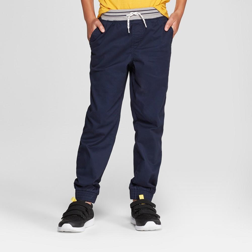 Boys' Jogger Pants - Cat & Jack Navy (Blue) 16