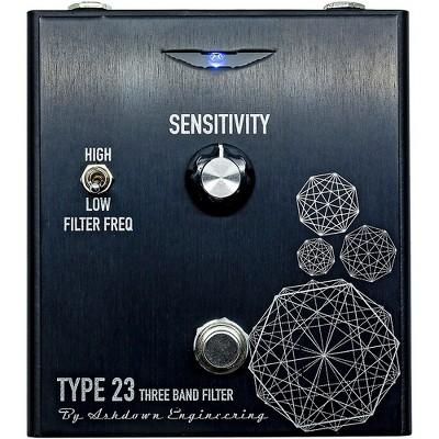 Ashdown Type 23 Tri Band Bass Filter Effects Pedal Black