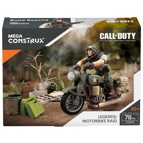 Call Of Duty Mega Construx Legends Motorbike Raid Set Fxw78 Target