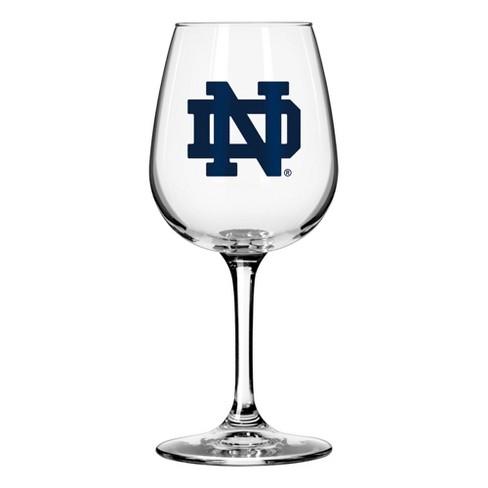 f453bccc2502c NCAA Notre Dame Fighting Irish Boxed Wine Glass   Target
