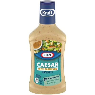 Kraft Vinaigrette Caesar Parmesan Salad Dressing - 16oz