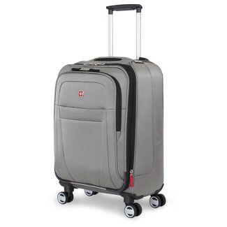 "SWISSGEAR Zurich 20"" Pilot Case Carry On Suitcase - Pewter"