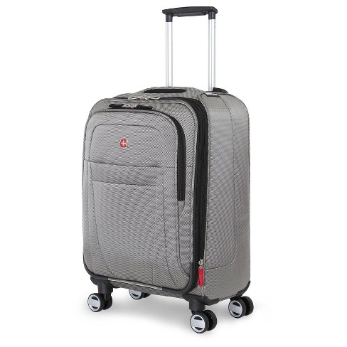 """SWISSGEAR Zurich 20"""" Pilot Case Carry On Suitcase - Pewter - image 1 of 4"""