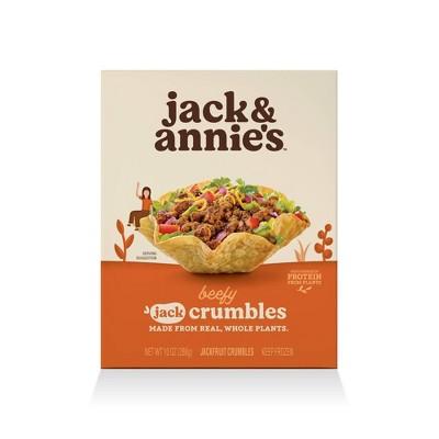 jack & annie's Frozen Taco Jack Crumbles - 10oz