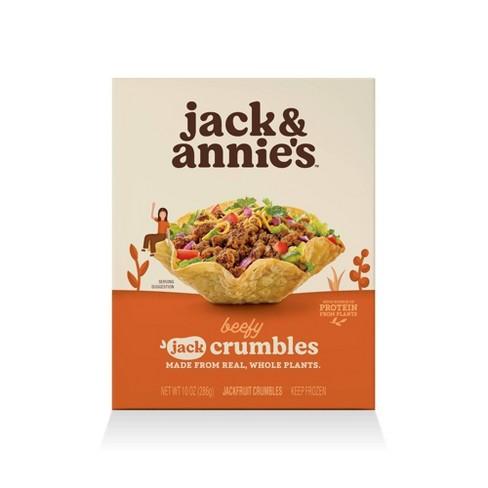 jack & annie's Frozen Taco Jack Crumbles - 10oz - image 1 of 4