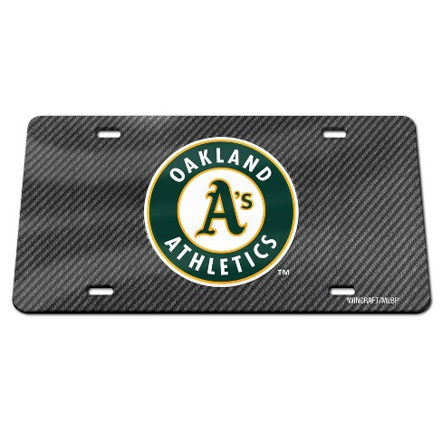 MLB Oakland Athletics Carbon Front Plate - image 1 of 1