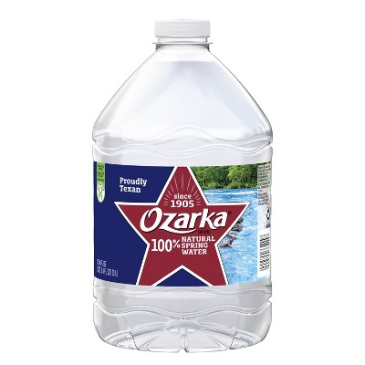 Ozarka Brand 100% Natural Spring Water - 101.4 fl oz Jug