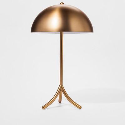 Metal Tripod Lamp   Gold   Project 62™