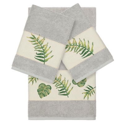 3pc Zoe Embellished Towel Set - Linum Textiles