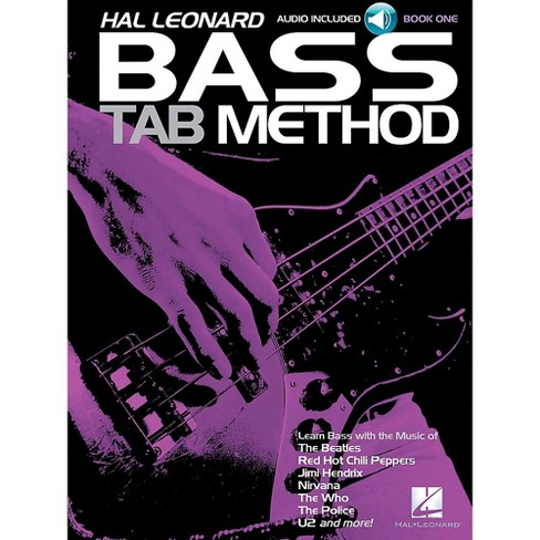 Hal Leonard Bass Tab Method Book 1 Book/CD - image 1 of 1