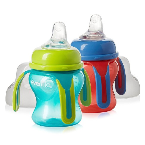 Evenflo Soft Flo Trainer Cup- 2pk - image 1 of 4