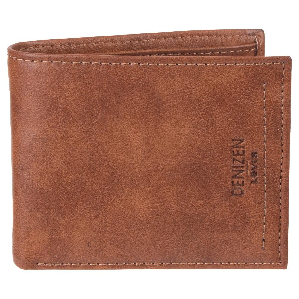Denizen from Levi's Men's Traveler Wallet - Tan, Light Brown