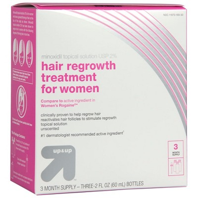Hair Regrowth Treatment for Women - 1 Kit - Up&Up