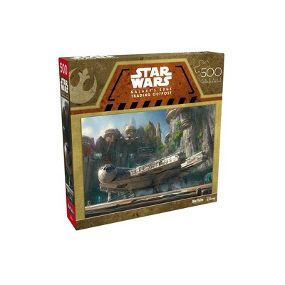 Buffalo Games Entertainment: Star Wars - Galaxy's Edge Trading Outpost Jigsaw Puzzle - 500pc