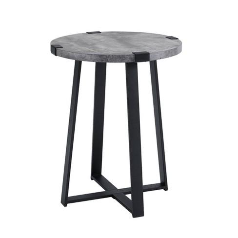 Furniture Of America Dill Rustic Black