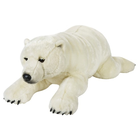 Lelly National Geographic Plush Giant Polar Bear Target