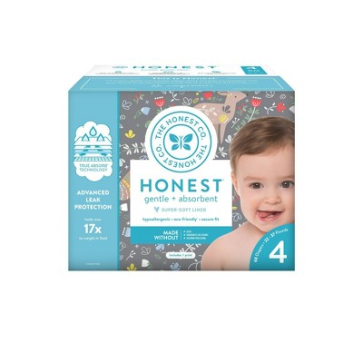 The Honest Company My Dear Disposable Diapers - Size 4 - 60ct