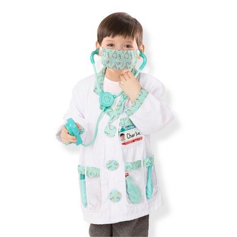 Melissa & Doug Doctor Role Play Costume Dress-Up Set (7pc) - image 1 of 4