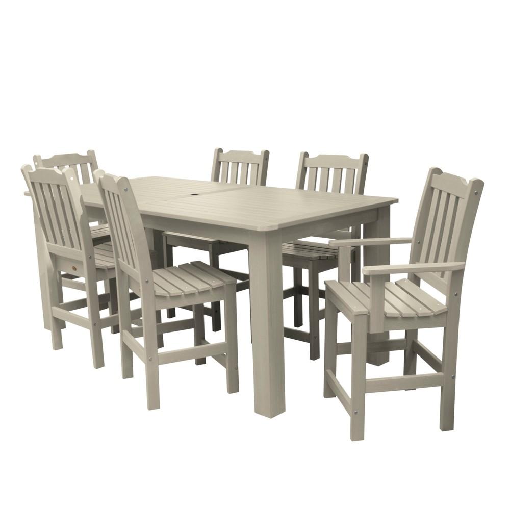 Lehigh 7pc Rectangular Counter Height Dining Set 84