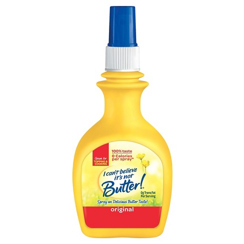 I Can't Believe It's Not Butter! Original Vegetable Oil Spray - 8oz - image 1 of 2