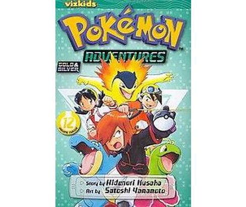 Pokemon Adventures 12 (Paperback) (Hidenori Kusaka) - image 1 of 1