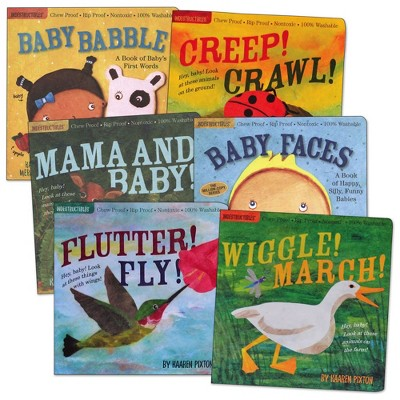 Indestructibles Wordless Picture Books - Set of 6