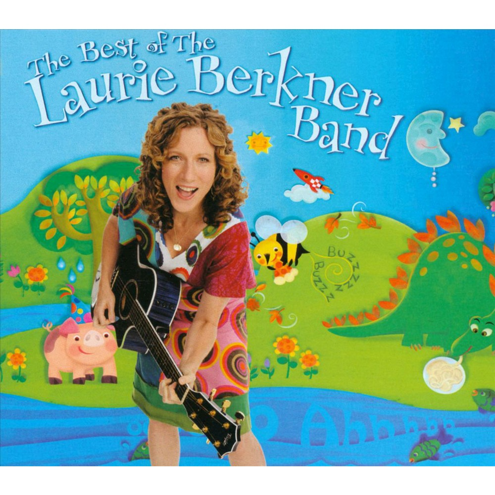 The Laurie Berkner Band - The Best of the Laurie Berkner Band (CD) Promos
