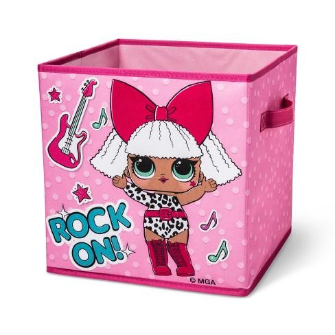 L.O.L. Surprise! Kids Storage Bin Pink