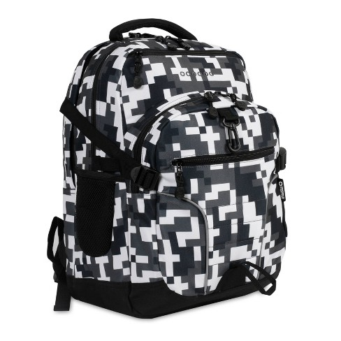 "J World 19.5"" Atom Multi-Compartment Laptop Backpack - Black - image 1 of 4"