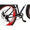 "Mongoose Men's Dolomite 26"" Fat Tire Mountain Bike - Navy/Red - image 3 of 4"