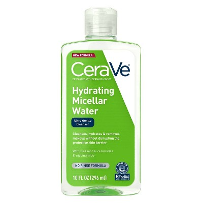 Facial Cleanser: CeraVe Hydrating Micellar Water